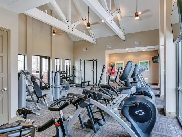 mckinney apartment with fitness center