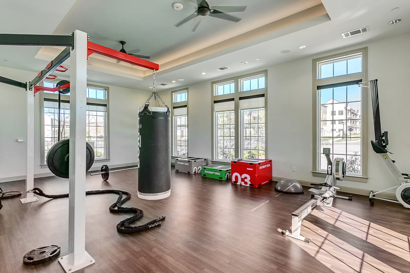 fitness center firsco apartment