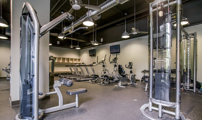 medium fitness center