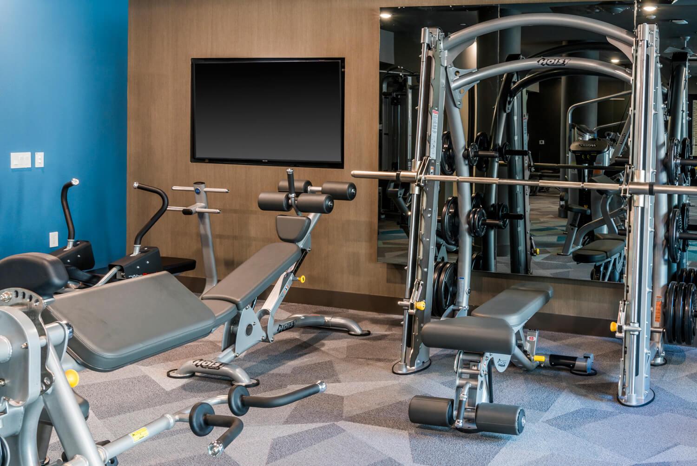 apartment fitness center frisco
