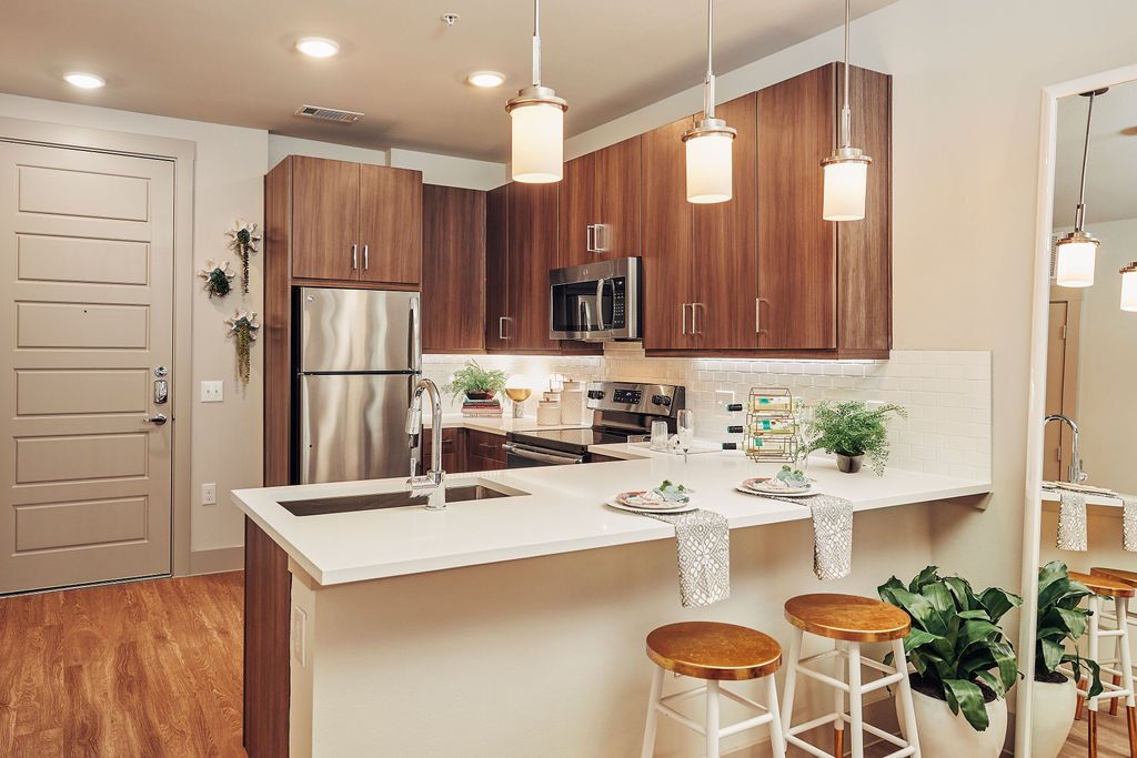 frisco apartments with quartz counters