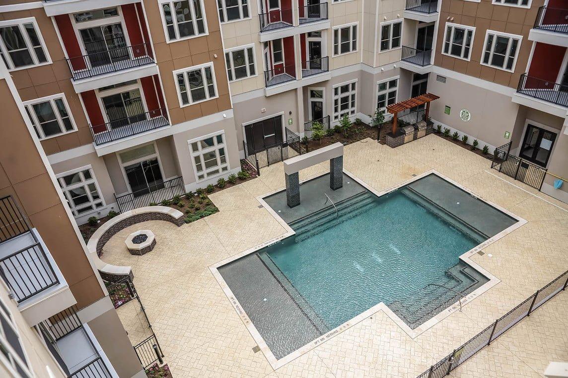 frisco tx apartment pool