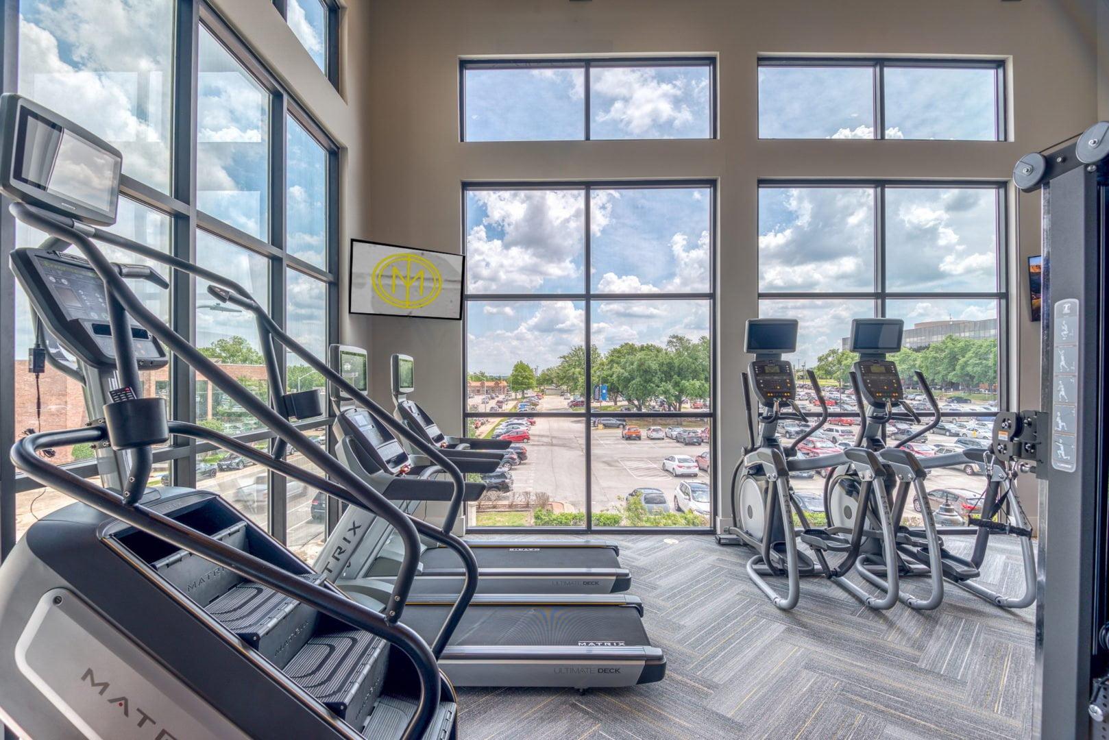apartment fitness studio