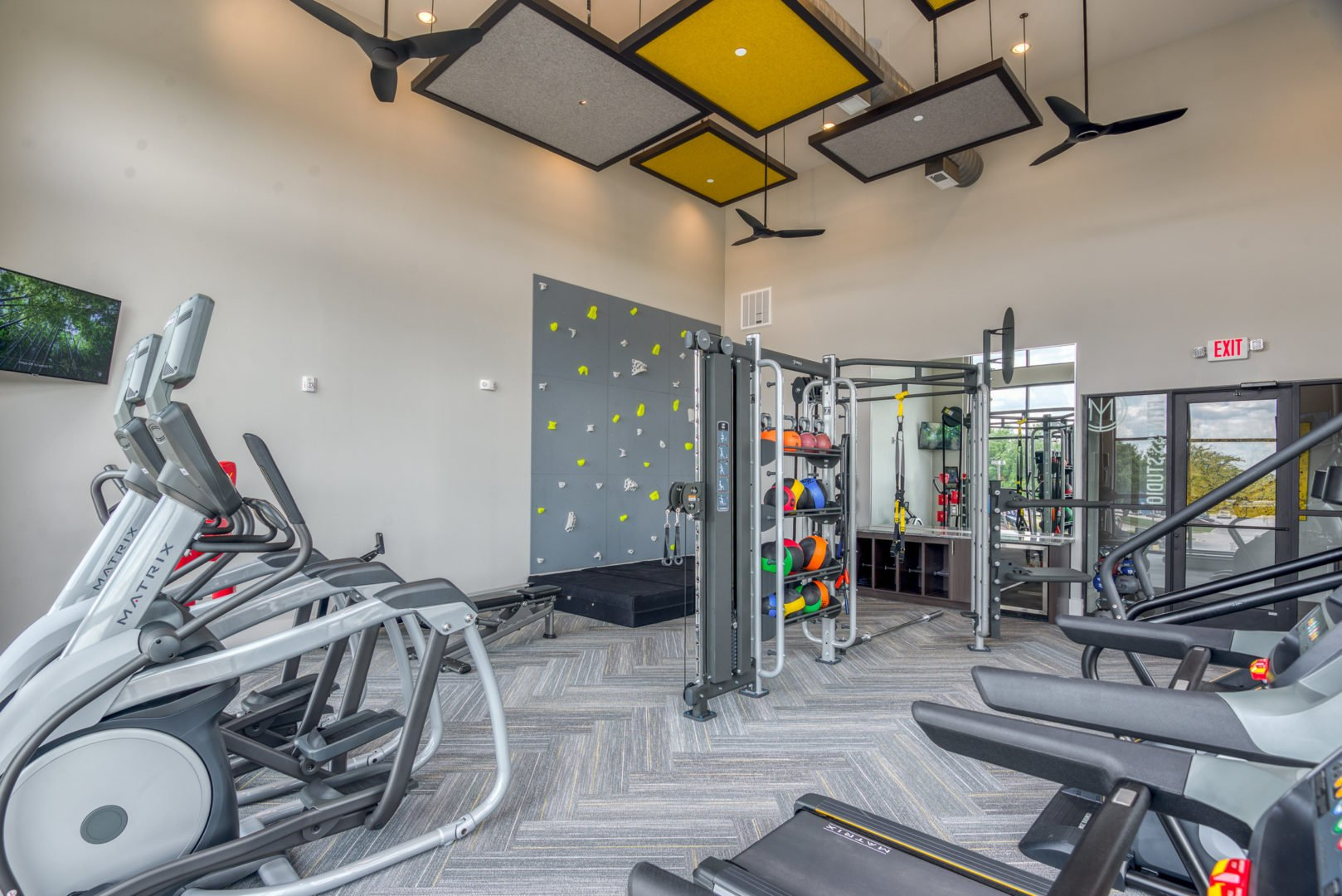 fitness center ft worth apartment