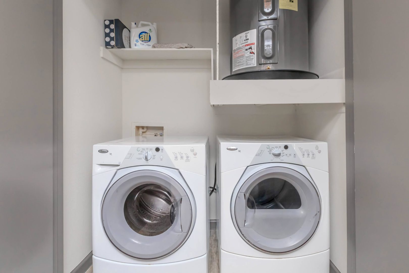 plano apartments with washer and dryer