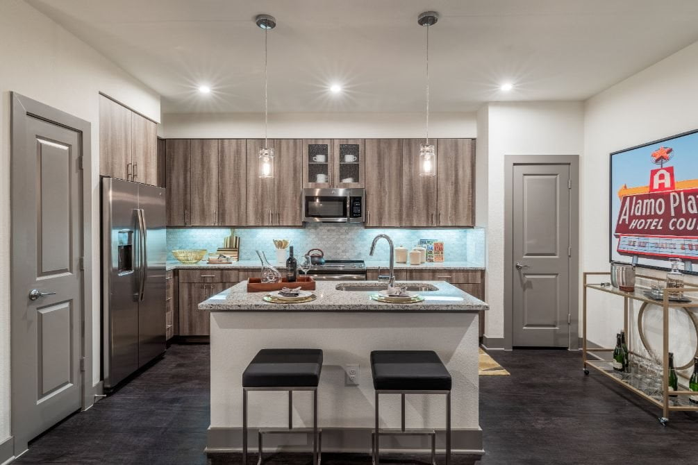 dallas apartments with gas ranges